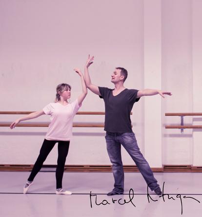 Marcel Matuga Lehrer Balletthaus Sinzing